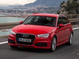 Audi A3 Sportback 2.0T S-Line quattro 8V (2012) images