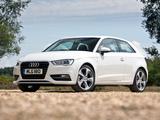 Audi A3 1.8T UK-spec 8V (2012) images