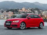 Audi A3 Sportback 2.0T S-Line quattro 8V (2012) photos