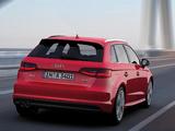 Audi A3 Sportback 2.0T S-Line quattro 8V (2012) pictures