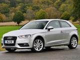 Audi A3 1.4T UK-spec 8V (2012) pictures