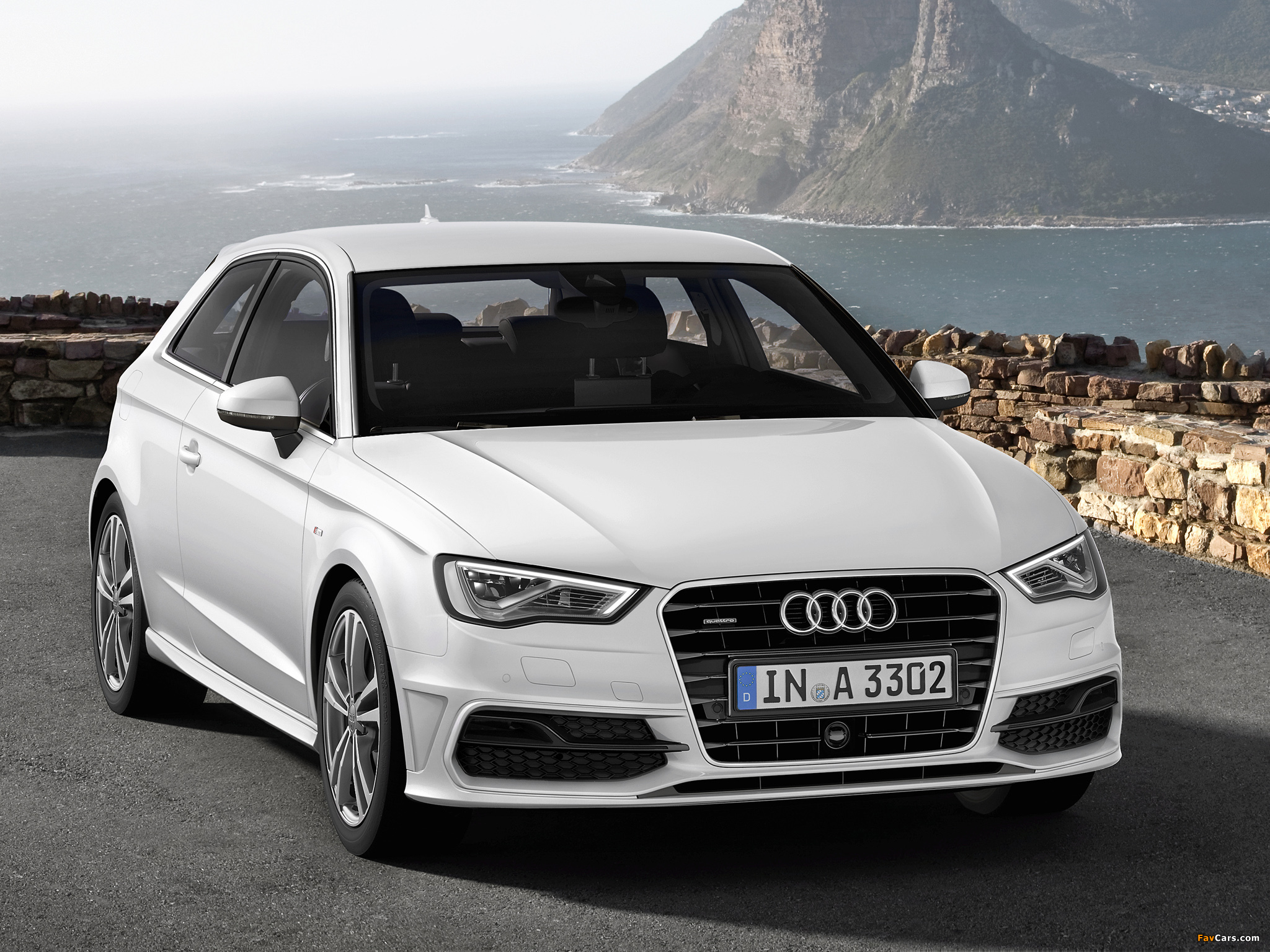 audi a3 1 8t s line quattro 8v 2012 wallpapers 2048x1536. Black Bedroom Furniture Sets. Home Design Ideas