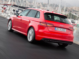 Audi A3 Sportback 2.0T S-Line quattro 8V (2012) wallpapers