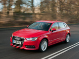 Audi A3 Sportback 2.0 TDI UK-spec (8V) 2013 images