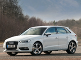 Audi A3 Sportback 1.8T UK-spec (8V) 2013 pictures