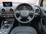 Audi A3 Sportback 2.0 TDI UK-spec (8V) 2013 pictures