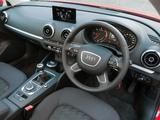 Audi A3 Sportback 2.0 TDI UK-spec (8V) 2013 wallpapers