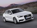 Audi A3 Sedan 2.0 TDI (8V) 2013 wallpapers