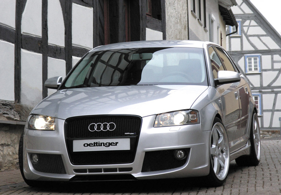 oettinger audi a3 sportback 8pa photos. Black Bedroom Furniture Sets. Home Design Ideas