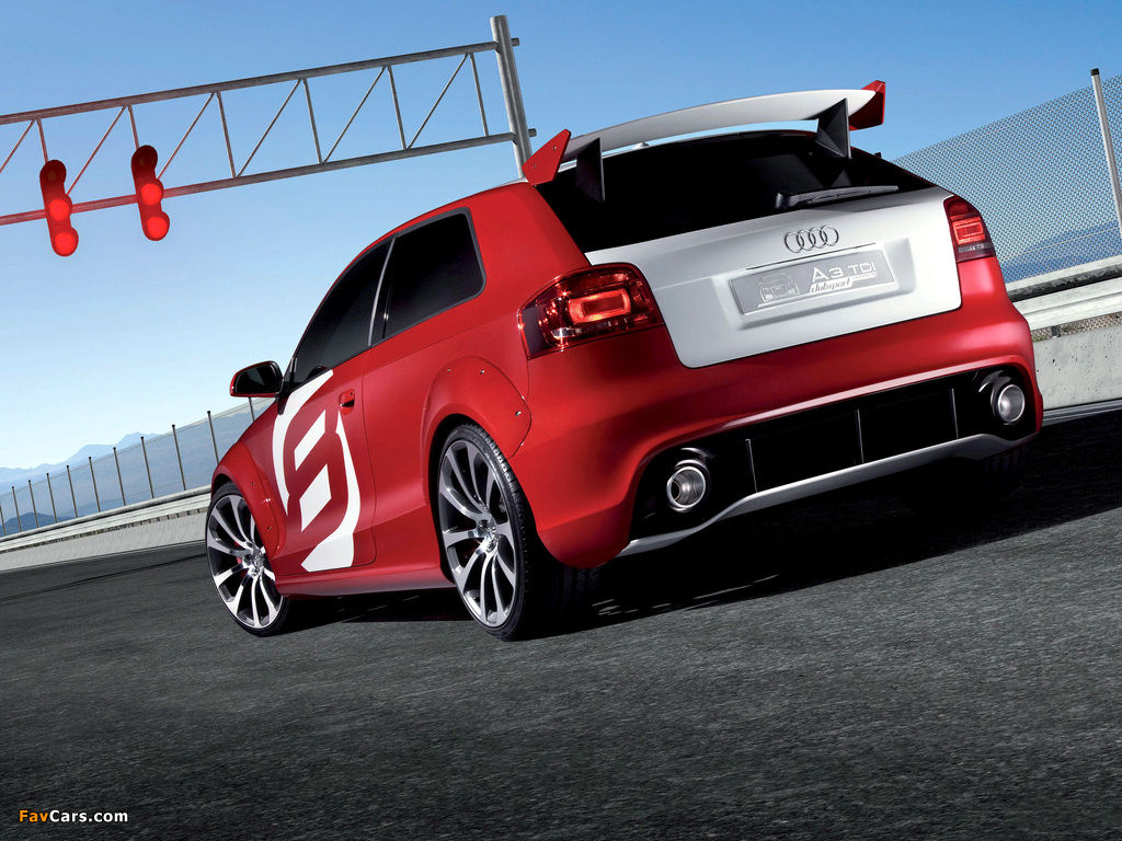 Images of Audi A3 TDI Clubsport quattro Concept (2008 ...