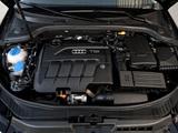 Images of Audi A3 Sportback TDI Clean Diesel 8PA (2009–2010)