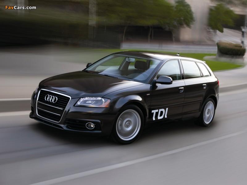 Images Of Audi A3 Sportback Tdi Clean Diesel 8pa 2009