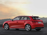 Images of Audi A3 Sportback 2.0T S-Line quattro 8V (2012)