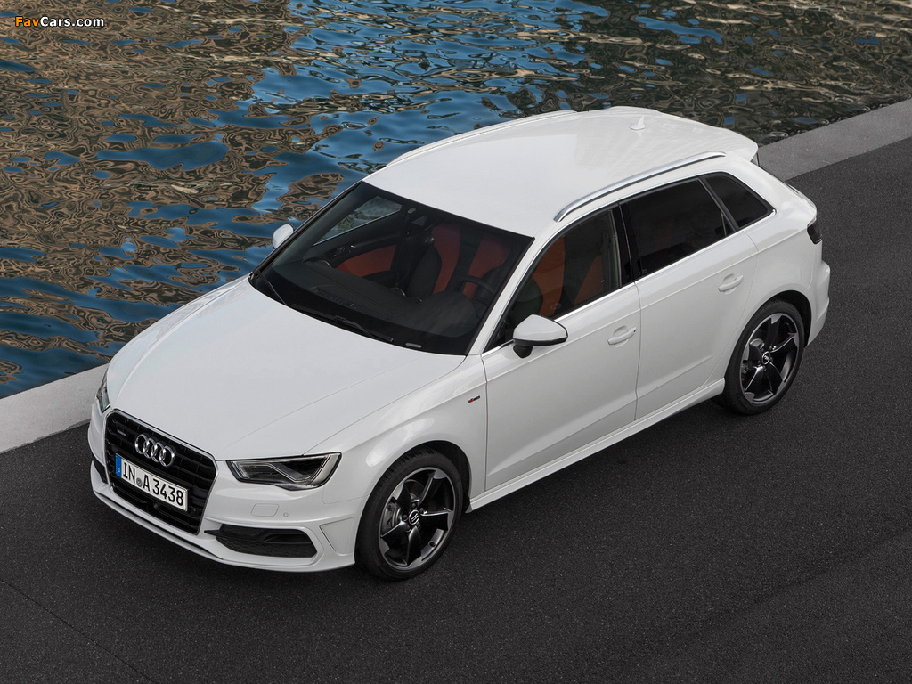 images of audi a3 sportback 2 0 tdi s line quattro 8v 2012 1024x768. Black Bedroom Furniture Sets. Home Design Ideas