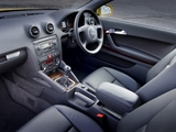 Photos of Audi A3 2.0 TDI UK-spec 8P (2003–2005)