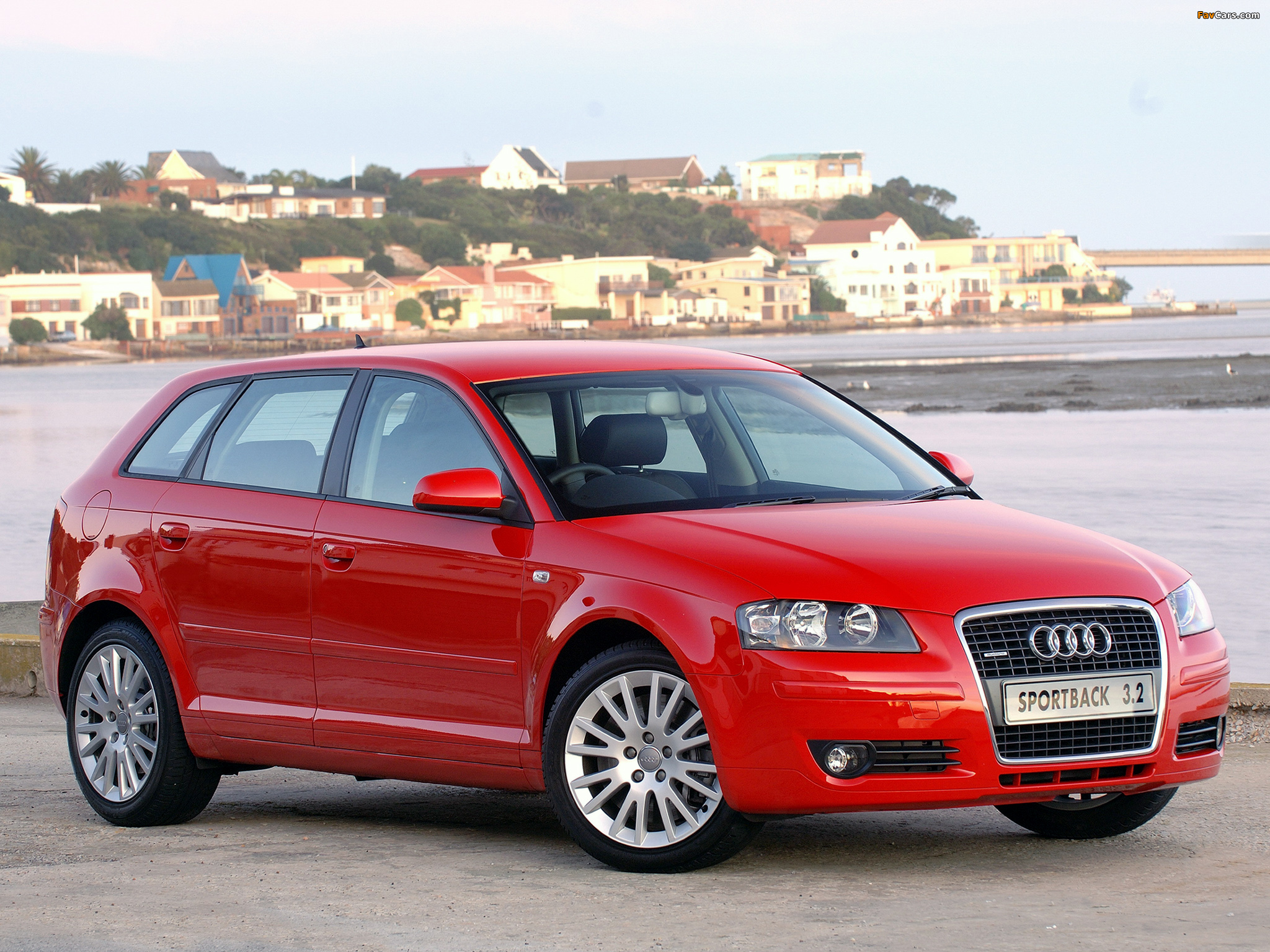 Photos Of Audi A3 Sportback 3 2 Quattro Za Spec 8pa 2005