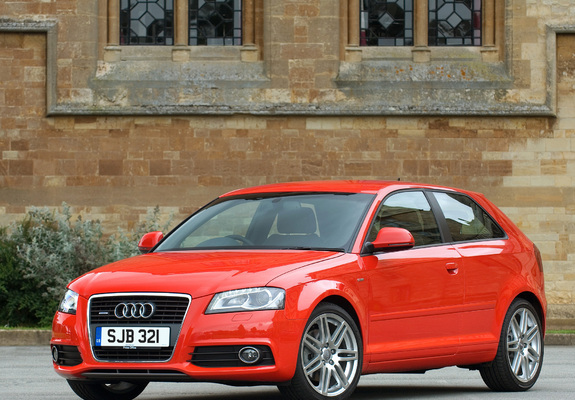 photos of audi a3 2 0t s line uk spec 8p 2008 2010. Black Bedroom Furniture Sets. Home Design Ideas