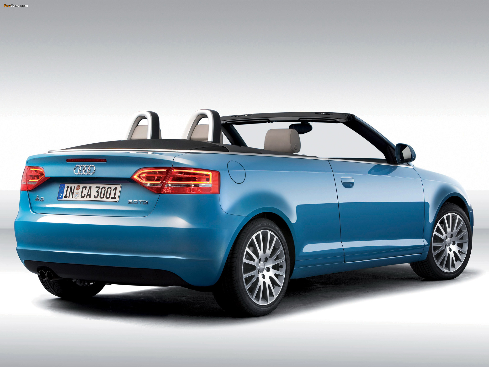 Photos Of Audi A3 2 0 Tdi Cabriolet 8pa 2008 2010