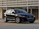 Photos of Audi A3 Sportback TDI Clean Diesel 8PA (2009–2010)