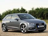 Photos of Audi A3 2.0 TDI UK-spec 8V (2012)