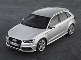 Photos of Audi A3 Sportback 2.0 TDI S-Line 8V (2012)