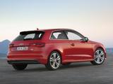 Photos of Audi A3 1.8T S-Line quattro 8V (2012)