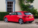 Photos of Audi A3 1.8T UK-spec 8V (2012)