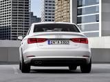 Photos of Audi A3 Sedan 2.0 TDI (8V) 2013