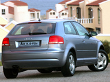 Pictures of Audi A3 2.0 TDI ZA-spec 8P (2003–2005)