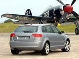 Pictures of Audi A3 Sportback 2.0T ZA-spec 8PA (2005–2008)