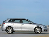 Pictures of Audi A3 Sportback 8PA (2008–2010)