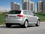 Pictures of Audi A3 Sportback TFSI 8PA (2010)