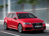 Pictures of Audi A3 Sportback 2.0T S-Line quattro 8V (2012)