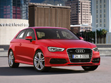 Pictures of Audi A3 1.8T S-Line quattro 8V (2012)