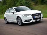 Pictures of Audi A3 1.8T UK-spec 8V (2012)