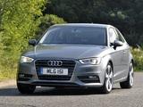Pictures of Audi A3 2.0 TDI UK-spec 8V (2012)