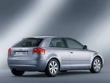 Audi A3 2.0 TDI 8P (2003–2005) wallpapers