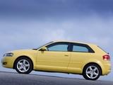 Audi A3 2.0 TDI UK-spec 8P (2003–2005) wallpapers