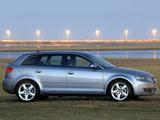 Audi A3 Sportback 2.0T ZA-spec 8PA (2005–2008) wallpapers