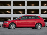 Audi A3 Sportback 2.0T US-spec 8PA (2005–2008) wallpapers