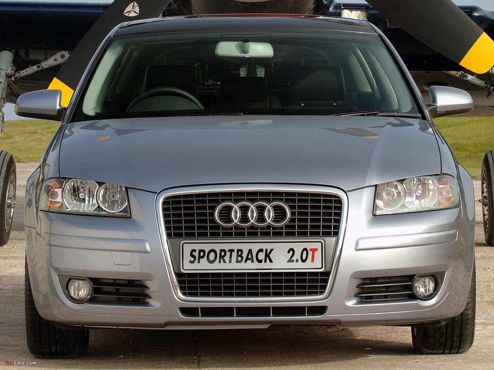 Audi A3 Sportback 2.0T ZA-spec 8PA (2005–2008) wallpapers (1600 x 1200)