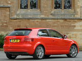 Audi A3 2.0T S-Line UK-spec 8P (2008–2010) wallpapers