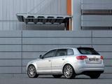 Audi A3 Sportback 8PA (2008–2010) wallpapers