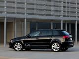 Audi A3 Sportback TDI Clean Diesel 8PA (2009–2010) wallpapers