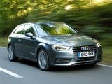 Audi A3 2.0 TDI UK-spec 8V (2012) wallpapers