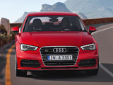 Audi A3 1.8T S-Line quattro 8V (2012) wallpapers