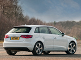 Audi A3 Sportback 1.8T UK-spec (8V) 2013 wallpapers