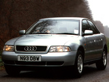 Audi A4 Sedan UK-spec B5,8D (1994–1997) pictures