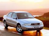 Audi A4 Sedan UK-spec B5,8D (1997–2000) photos