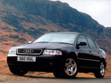 Audi A4 Sedan UK-spec B5,8D (1997–2000) wallpapers